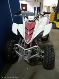 2005 yamaha raptor 350 atv item bv9357 sold october 18