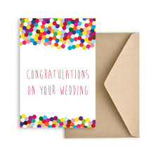 congratulations on wedding card gift cards congrats on your wedding card