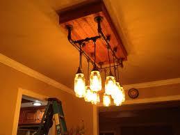 diy dining room light pallet chandelier pipe editonline us