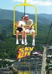 Chair Lift In Gatlinburg Tn Gatlinburg Sky Lift Climbs To 1 800 Feet The Areas 1 Senic