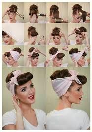 Hochsteckfrisurenen Rockabilly Anleitung by Elegante Rockabilly Frisur Hair Styles Rockabilly