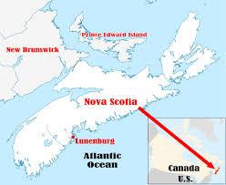 Nova Scotia Canada Map by Lunenburg Nova Scotia My Favorite Westerns