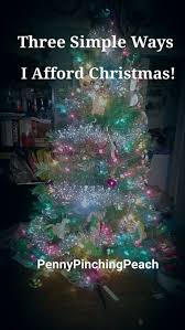 Christmas Tree Shopping Tips - shopping tips penny pinching peach