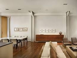 floating media cabinet dining room modern with beige sofa floating