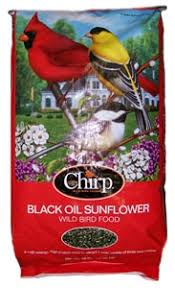 chirp black oil sunflower seed 50lb home plainfield agway