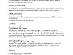 sle resume for retail department manager duties best solutions of resume objective cashier position retail rodrigo