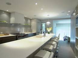 appliances luxury long kitchen counter with low back white