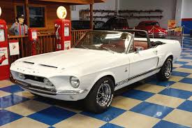 1968 ford mustang black 1968 ford mustang convertible shelby gt350 tribute white