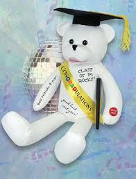 graduation bears musical stuffed graduation autograph singing i feel