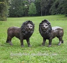 foo dog statue for sale hot sale mascot bronze lucky animal bronze foo dogs lion