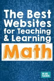 best math websites for the classroom as chosen by teachers