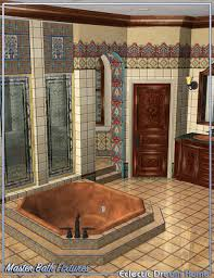 dream home eclectic master bathroom fixtures 3d models and 3d