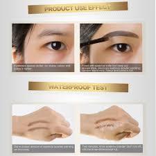 How To Shape Eyebrows With Tweezers Aliexpress Com Buy Miskos 4 Colour Eyebrow Shaping Powder Cream