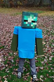 Minecraft Enderman Halloween Costume Minecraft Zombie Costume Diy Lwhtxrs Halloween