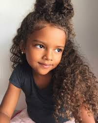 hairstyles for 2 year old curly sweety so cute hairspiration pinterest curly bun curly