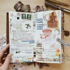 Scrapbook Inserts Gorgeous Midori Travelers Notebook Pages Ideas And Inspiration