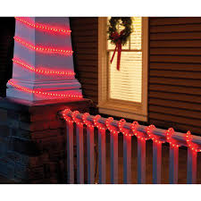 walmart red led christmas lights holiday time christmas lights 18 crystalized light red