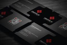 stylish black avon business card template available for free