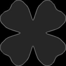 best photos of flower outline shape flower outline clip art