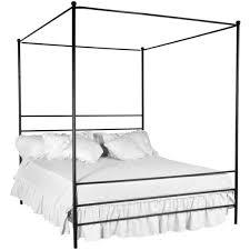 Black Canopy Bed Frame Die Besten 25 Queen Canopy Bed Frame Ideen Auf Pinterest King