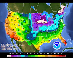 national weather forecast map oh it s winter swath of u s will be bitterly cold