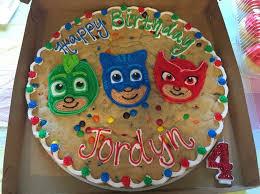 pj mask cookie cake pj mask birthday party ideas