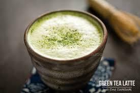 cara membuat thai tea latte green tea latte 抹茶ラテ just one cookbook