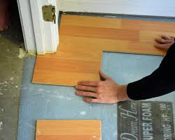 What To Put Under Laminate Flooring Diy Laminate Flooring Install Flooring Designs