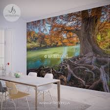 wall murals peel and stick self adhesive vinyl hd print page 2 fall river scene wall mural tree river self adhesive peel stick wall mural
