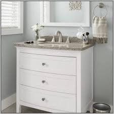 the most elegant shallow depth bathroom vanity using exciting