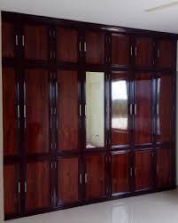 Aluminium Fabrication Kitchen Cabinets In Kerala Aluminium Fabrication Wooden Finish Wardrobes