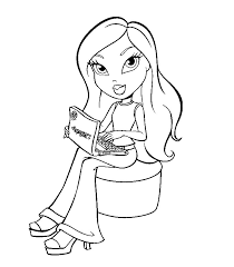 bratz coloring pages 11937 bestofcoloring