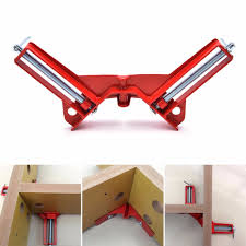 popular adjustable picture frames buy cheap pcs red adjustable jaws degree right angle clip aluminum picture frame corner clamp woodworking hand