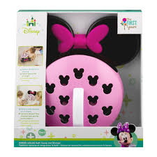 the first years disney baby minnie mouse bath scoop and storage