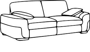 canape a coloriage canapé à imprimer