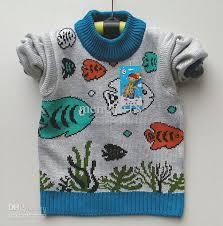 fish sweater 2012 flax children sweater wholesale fish spit
