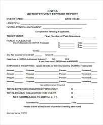 event recap template 16 event report template free sle exle format downlaod
