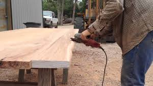 making a live edge table how to make your own live edge youtube