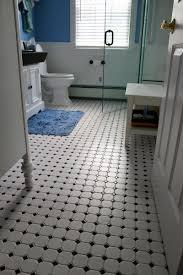 carrelage noir brillant salle de bain salle de bain retro noir et blanc