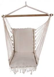 outdoor chair with arm and footrest blue outdoor hammock chair