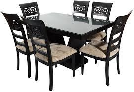 six seater dining table rawat jaguar six seater dining table muticolour rawat furniture