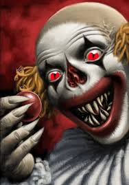 coloring pages of scary clowns best 25 ugly clowns ideas on pinterest scary clowns evil clown