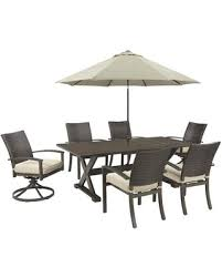 Patio Set With Swivel Chairs Amazing Deal On Moresdale Collection P457 T4c2swcu 8 Piece Outdoor