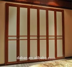 Wholesale Closet Doors Multifunctional Wardrobe Sliding Door System For Wardrobe Doors