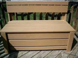 storage box for deck porch storage bench deck storage cube deck