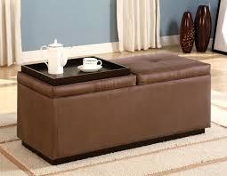 Ideas For Leopard Ottoman Design Attractive Brown Leather Ottoman Coffee Table Dans Design Magz