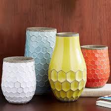 West Elm Vases Hive Vases West Elm