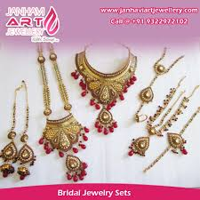 bridal jewelry necklace sets images Bridal jewellery mumbai india janhavi art jewellery janhavi jpg