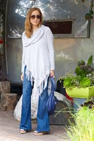 wearing flares boho chic of the 70s fashion