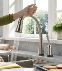 kitchen touch faucets delta touch and free faucets product highlights